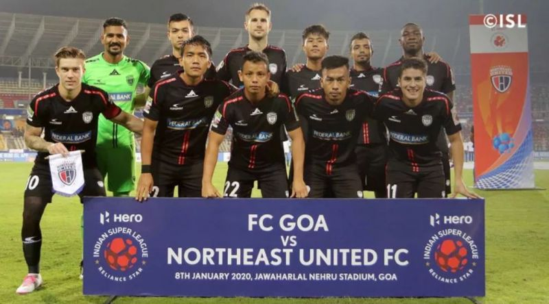 NorthEast United FC were depleted and felt the loss of key players. (Image: ISL)