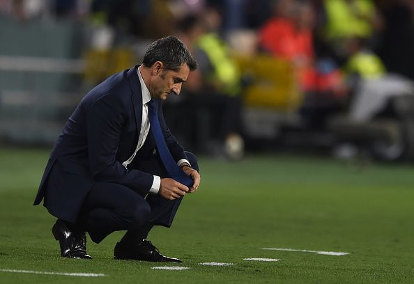 Ernesto Valverde has left after 2 and a half seasons in charge of Barcelona