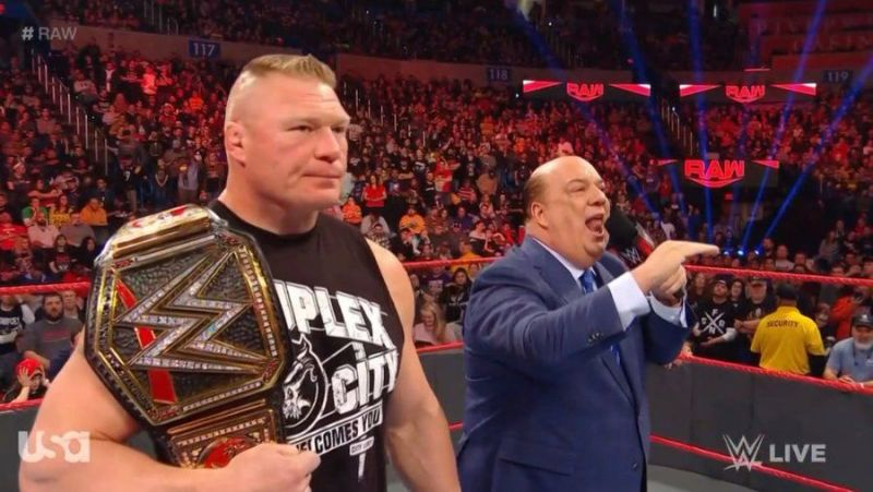 Brock Lesnar is conquering this year