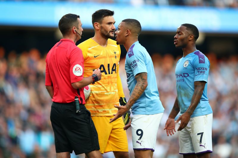 Gabriel Jesus saw a goal controversially ruled out in the last meeting between the two sides