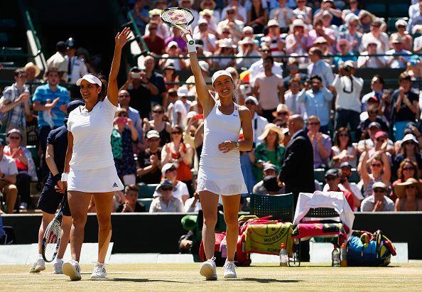 Mirza had a breakthrough year in 2015, winning the Wimbledon alongside Martina Hingis.