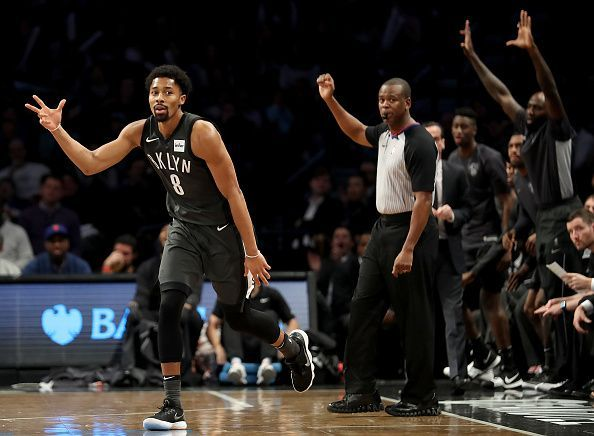 Even with Kyrie back, Dinwiddie will look to keep it going