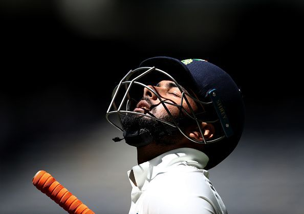 Rishabh Pant suffered a concussion after being hit by a bouncer