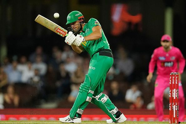 Marcus Stoinis has been in top-notch form for Melbourne Stars in BBL