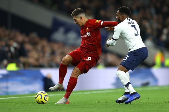 Firmino was clearly the most dangerous attacker on the pitch