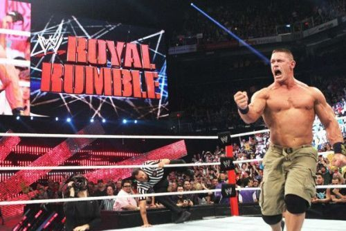 John Cena has won 2 Royal Rumble matches