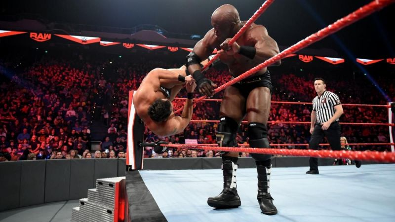 Could this be the day when Lashley becomes a babyface?