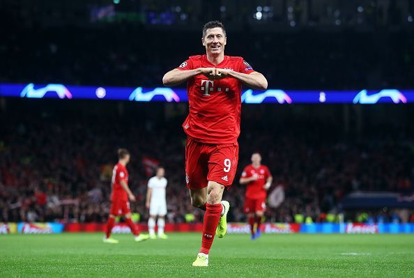 Lewandowskiis one of the most prolific strikers in today