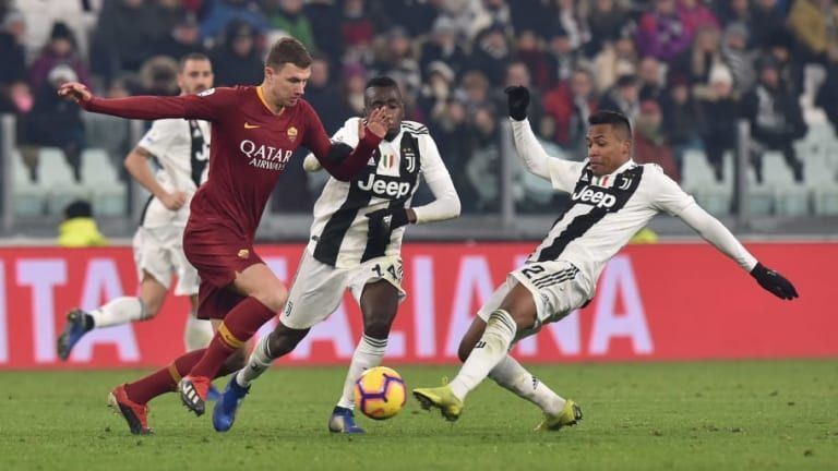 Traditional rivals AS Roma and Juventus go head-to-head once again