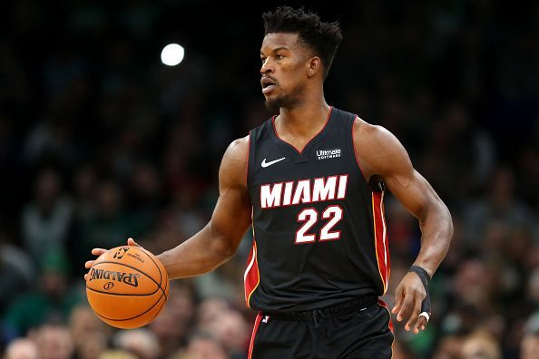 Jimmy Butler is questionable for tonight