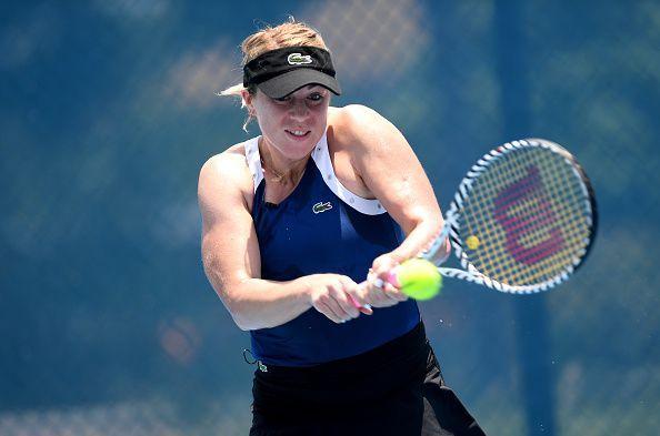 Anastasia Pavlyuchenkova has beaten Kvitova at Brisbane before.