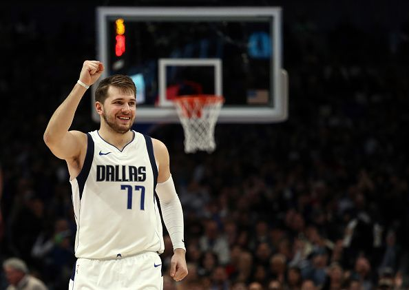 Luka Doncic leads the NBA in the number of votes, accumulating 1,073,957 fan votes