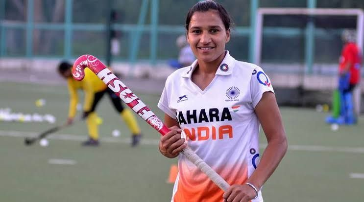 Rani Rampal is the captain of Indian women