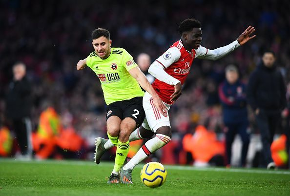 Ainsley Maitland-Niles faced situations of numerical inferiority before Arsenal