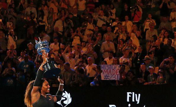 Australia is where Serena Williams had last won a Grand Slam, back in 2017.