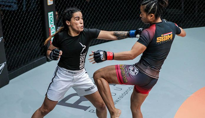 """""""The Cyclone's"""" martial arts spirit gave her the strength and focus to use her counter-striking and grappling to be victorious despite the odds being stacked against her"""