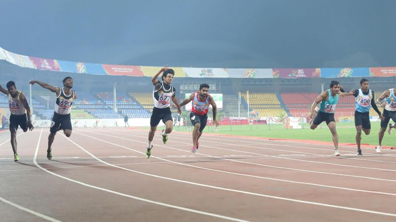 Athletics action is set to commence at the Khelo India Youth Games 2020 in Guwahati, Assam