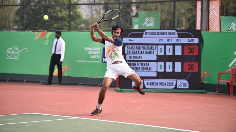 The last day of competition at Khelo India Youth Games 2020 saw the finals in Tennis