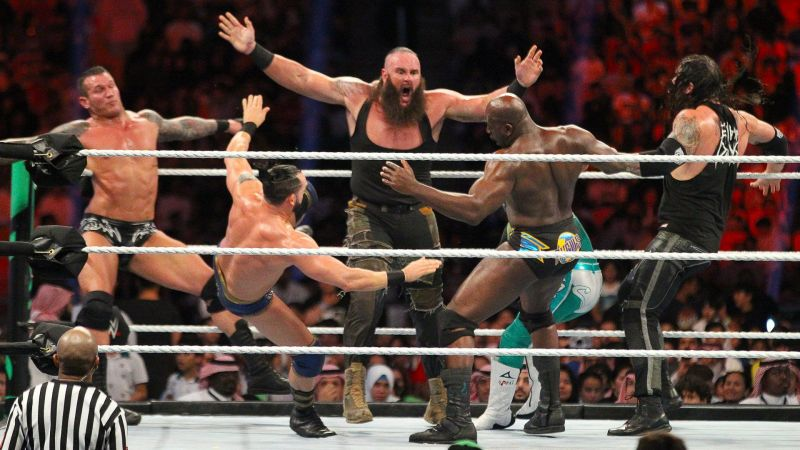 Braun Strowman during the Greatest Royal Rumble match.