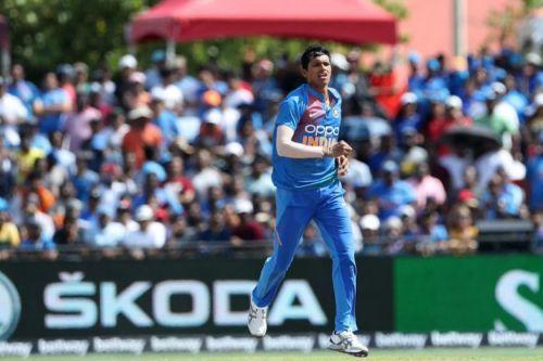 Navdeep Saini could return for the Rajkot ODI
