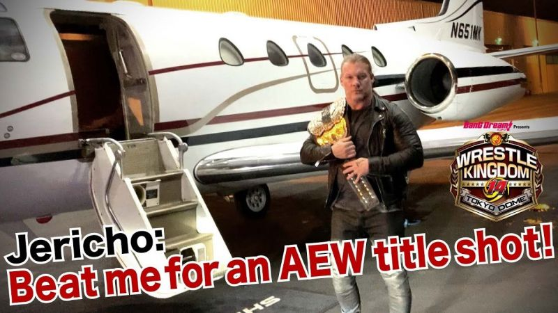 Chris Jericho is open to giving Hiroshi Tanahashi a shot at the AEW World Title