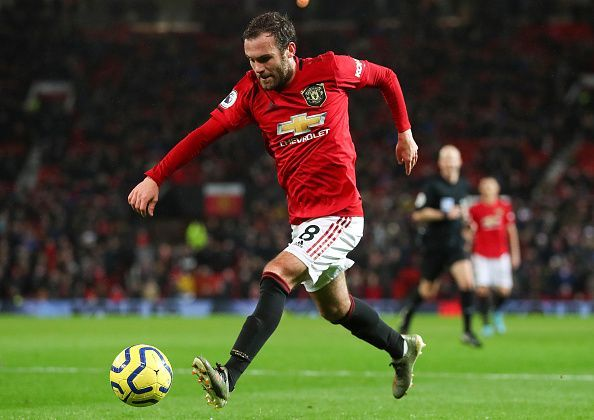 Juan Mata was at his best against Norwich