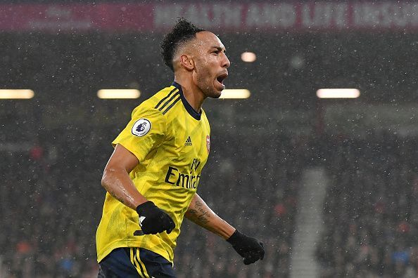 "Aubameyang reiterated that he is ""committed"" to the club and isn"
