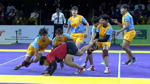The knockout action is set to begin in the Kabaddi event at the Khelo India Youth Games 2020