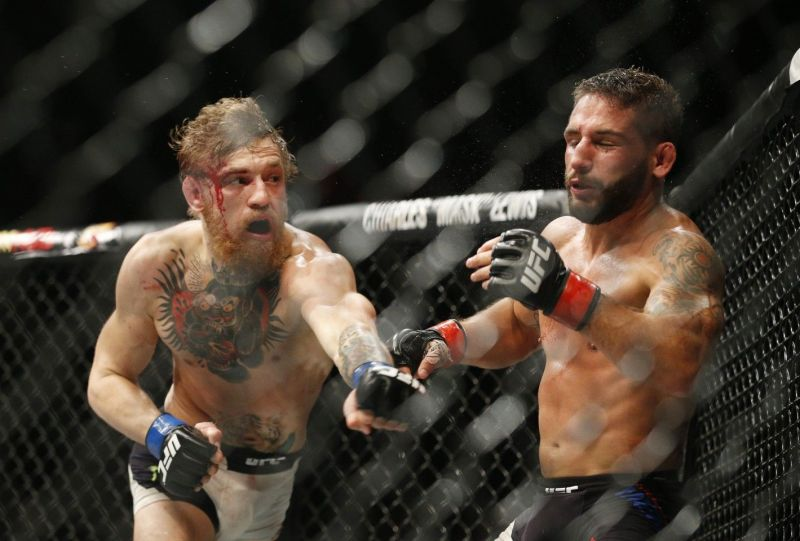 McGregor broke Chad Mendes down with strikes to the body - a weak point of Donald Cerrone
