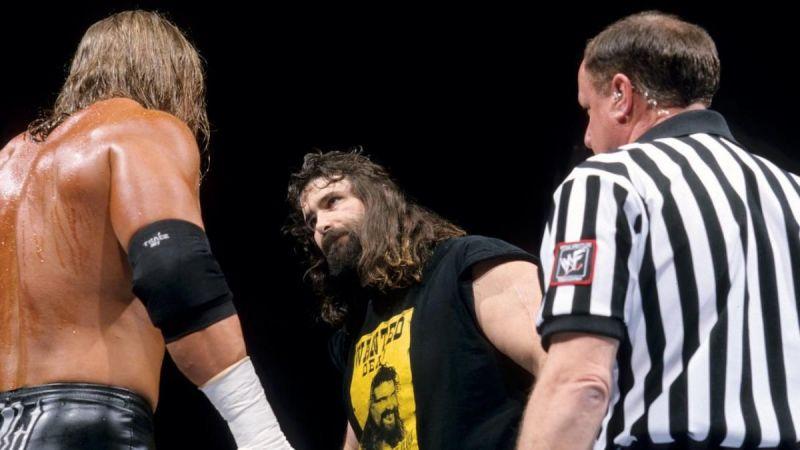 This was prime Attitude Era WWF.
