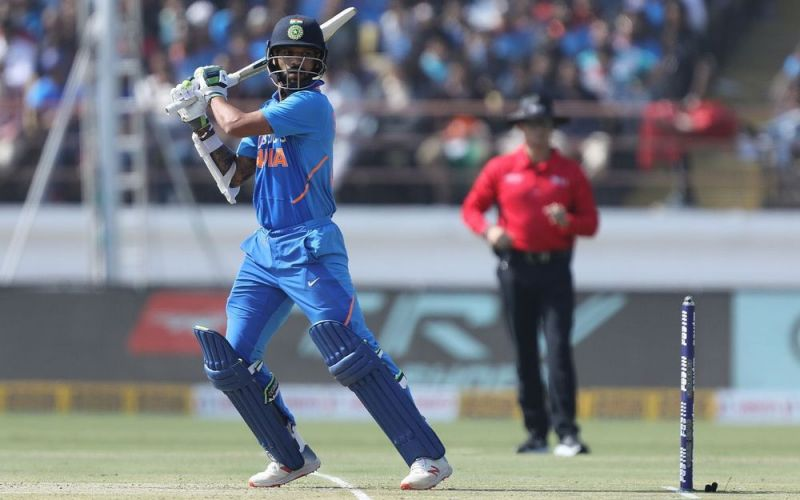 Shikhar Dhawan was in prime form