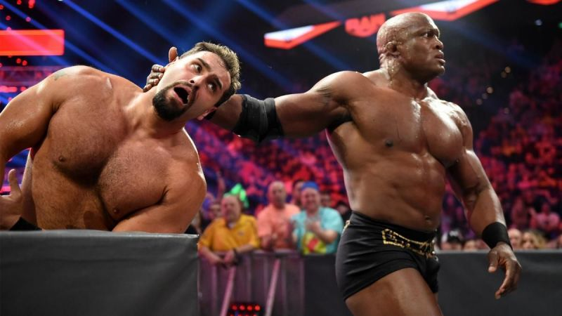 Lashley vs Rusev