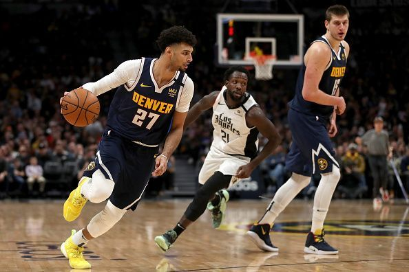The Denver Nuggets are third in the Western Conference
