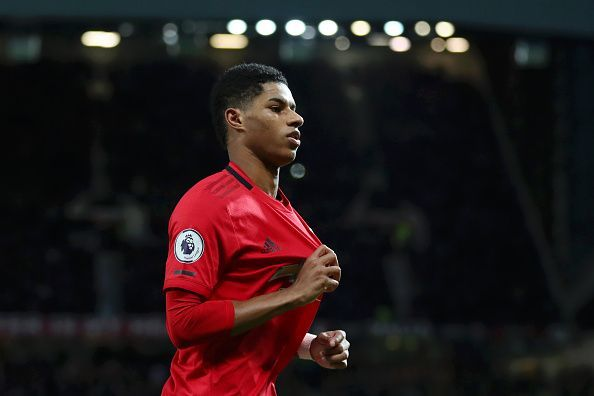 Marcus Rashford dazzled on his 200th appearance for the club