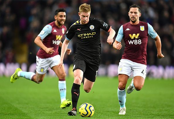 Aston Villa v Manchester City - Premier League