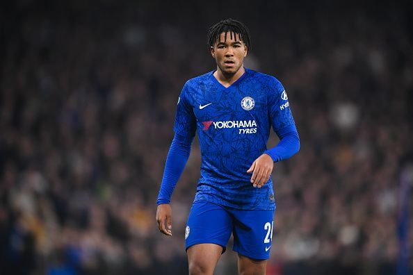 Reece James came in at right back for Chelsea
