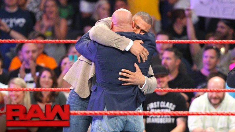 Jason Jordan and Kurt Angle