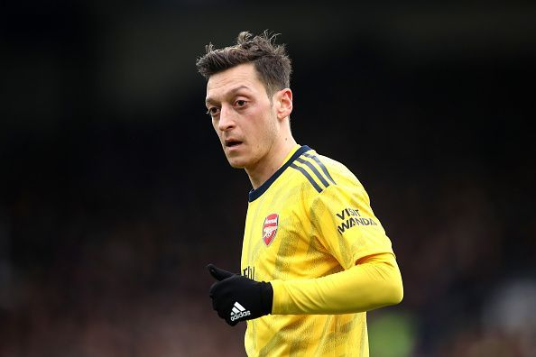 Mesut Ozil is solidifying his position in the starting eleven