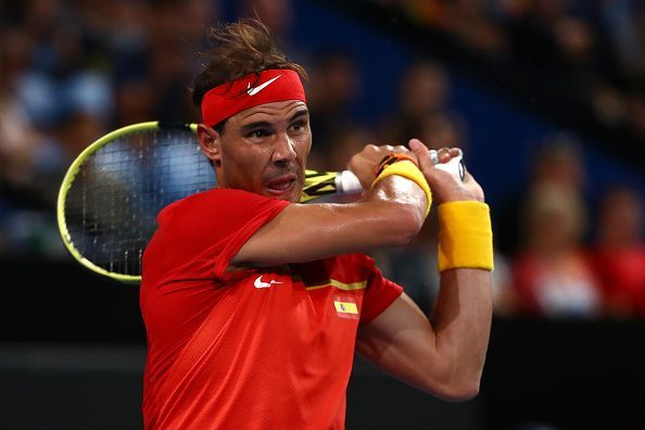 Rafael Nadal lost his first match at the ATP Cup against David Goffin in the quarterfinals