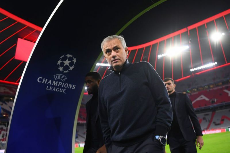 Jose Mourinho took charge from Mauricio Pochettino in November last year