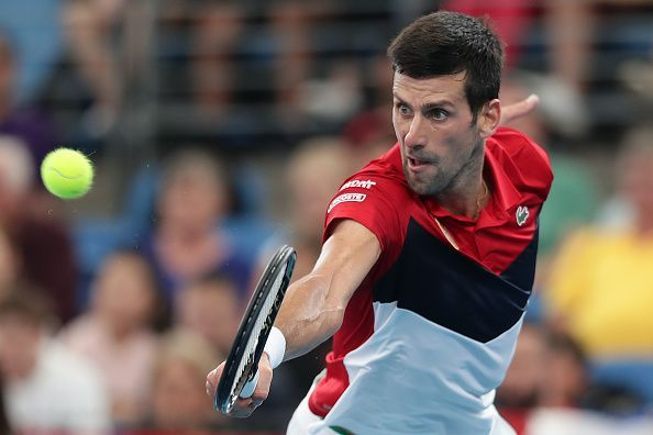 Djokovic has been at his retrieving best in some of the matches this week.