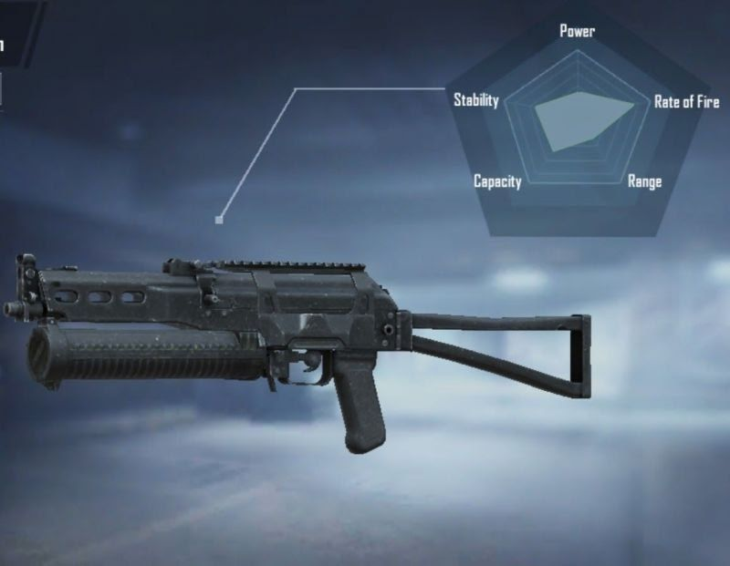 PP-19 Bizon boasts a greater magazine capacity