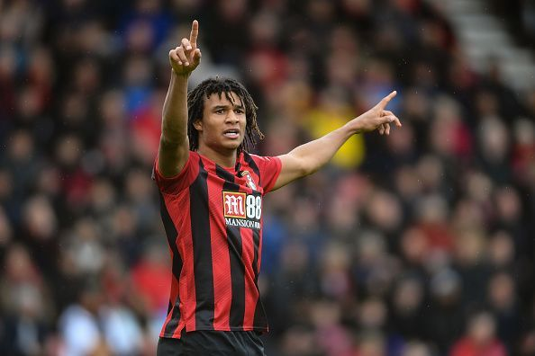 Nathan Ake in action for AFC Bournemouth