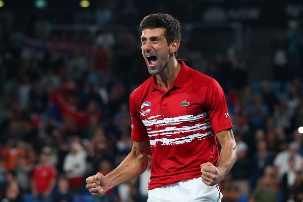 2020 ATP Cup - Djokovic now starts as a favourite at the Australian Open