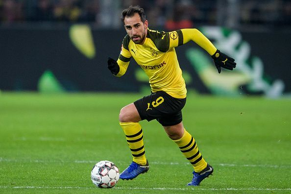 Borussia Dortmund are willing to let Paco Alcacer go for €40 million.