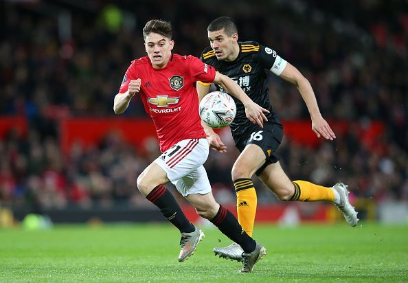 Daniel James has faced heavy criticism from frustrated Manchester United fans in recent weeks