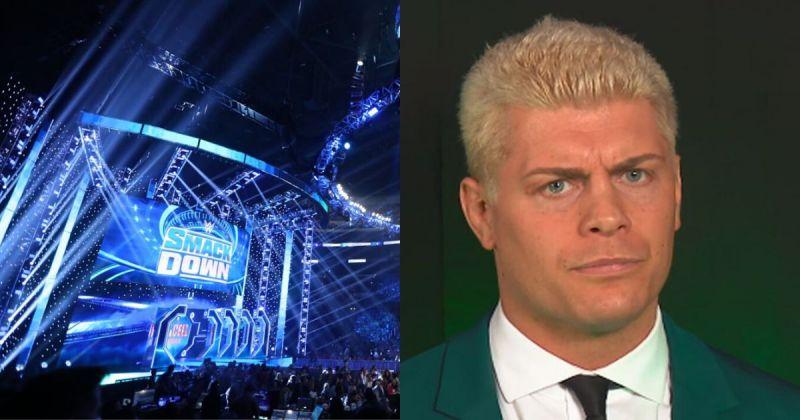 SmackDown arena/ Cody