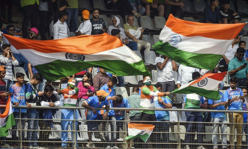 India has always had vociferous crowds in its cricket stadiums