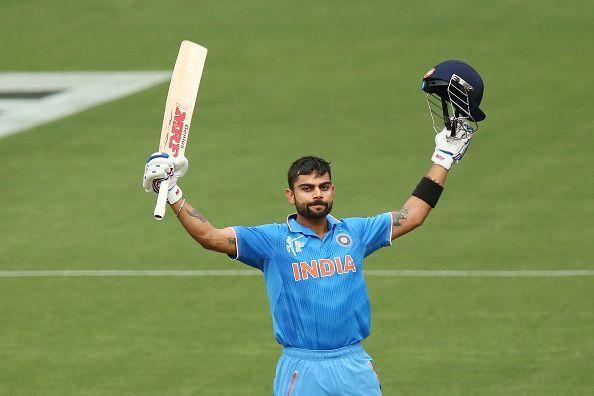Virat Kohli has scored 9509 runs batting at number three