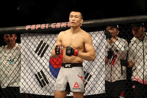 UFC Fight Night The Korean Zombie v Rodriguez